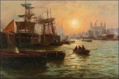 Londen aan de Theems
