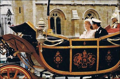 Prins Andrew en Sarah Ferguson