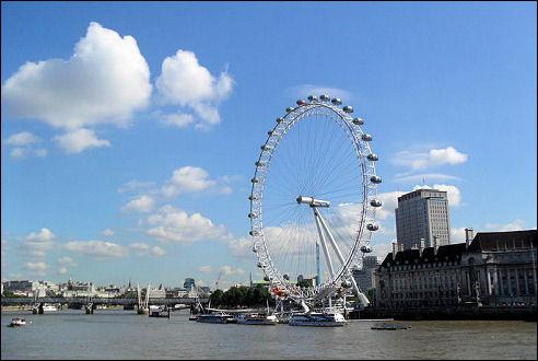 London Eye aan de Theems