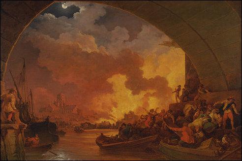 Grote brand van Londen