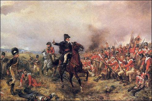 Arthur Wellesley in Waterloo