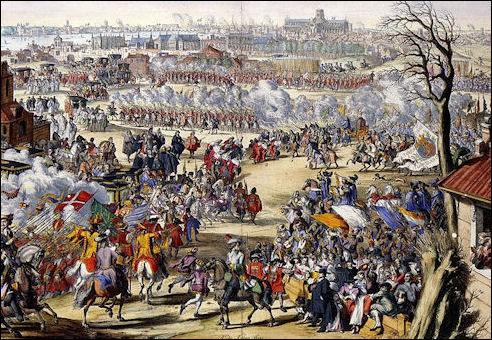 Ontvangst van Willem III in Londen