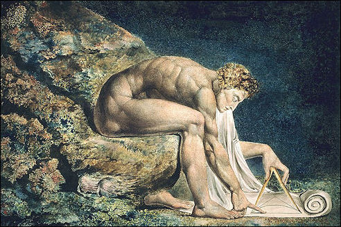 William Blake: Newton als meetkundige