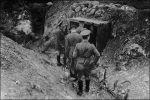 George V in Duits loopgraaf