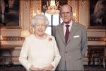 Koningin Elizabeth en prins Philip