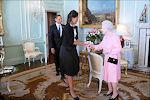 Obama ontmoet Elizabeth II