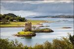 Castle Stalker in Loch Laich