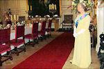 Koningin Elizabeth in Warwick Castle