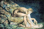 William Blake: Newton als meetkundige